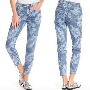 NWT The Stiletto Wily Leaf Print Jeans 25